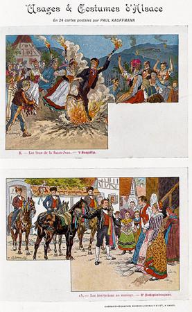 Usages & costumes d'Alsace