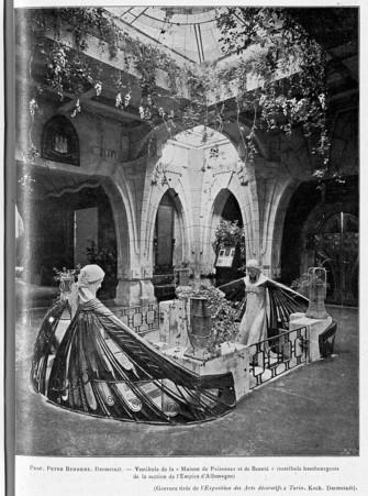 """Vestibule de la """"maison de puissance et de beauté"""""""