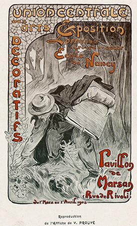 Reproduction de l'affiche de V. Prouvé