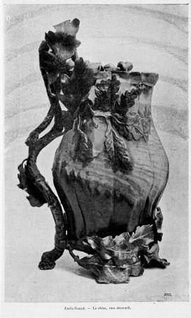 Le chêne : vase décoratif