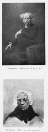 Portrait de M. A. H... Une paysanne lorraine
