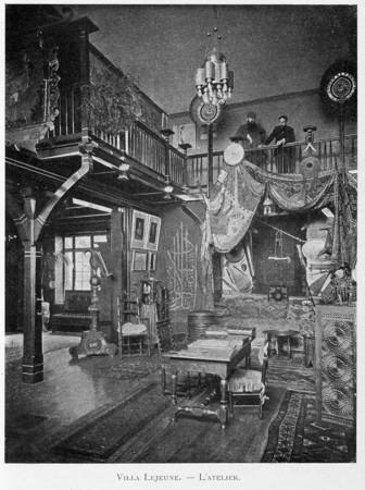 Villa Lejeune : l'atelier