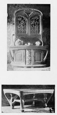 Buffet et table de salle à manger