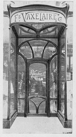 Porte d'entrée de la maison François Vaxelaire