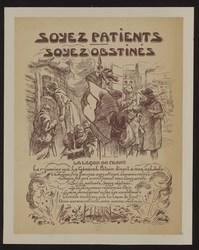 Soyez patients, soyez obstinés