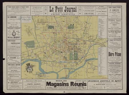 Plan de Nancy 1906