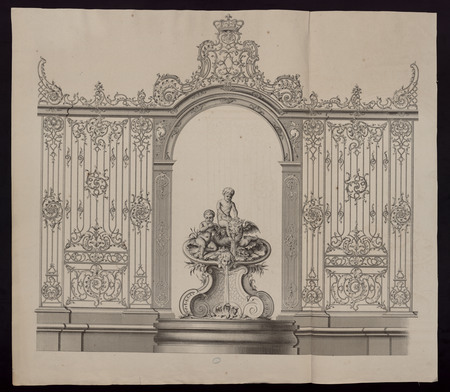 Fontaine de la place Stanislas de Nancy