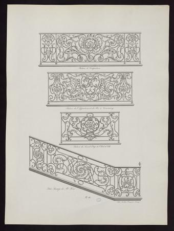 Balcon de composition. Balcon de l'appartement du Roi à Commercy. Balcon d…