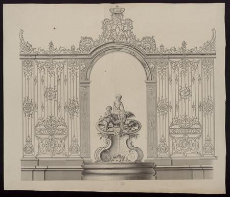 Petite fontaine de la place Stanislas de Nancy