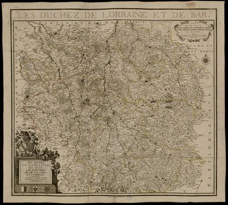 Les Duchez de Lorraine et de Bar Les Evechez de Metz, Toul et Verdun
