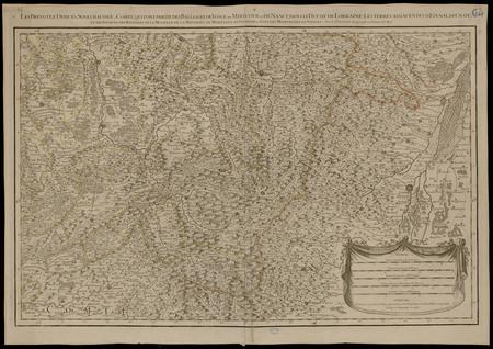 Les bailliages de Vosges et de Nancy dans le Duché de Lorraine