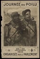 Journée du poilu 25 et 26 décembre 1915 organisée par le parlement