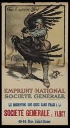 Pour le suprême effort emprunt national Société Générale. Les souscription…