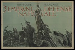 3e emprunt de la Défense Nationale. République Française