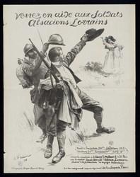 Venez en aide aux soldats Alsaciens-Lorrains