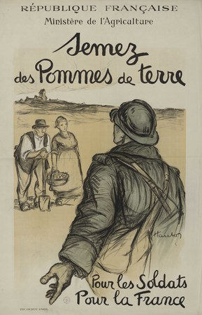 République française. Ministère de l'Agriculture. Semez des pommes de terr…