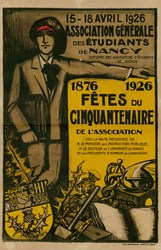1876-1926 : fêtes du cinquantenaire de l'association. 15-18 avril 1926 : a…