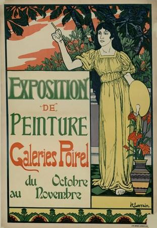 Exposition de peinture Galeries Poirel