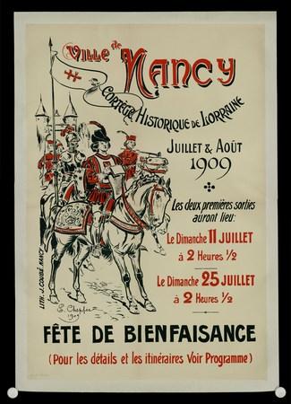 Ville de Nancy : Cortège historique de Lorraine Juillet et Août 1909
