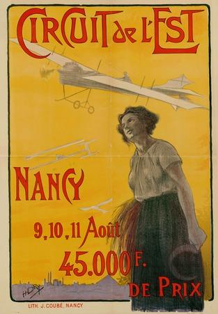 Circuit de l'Est Nancy 9, 10, 11 Août 45.000 F de Prix