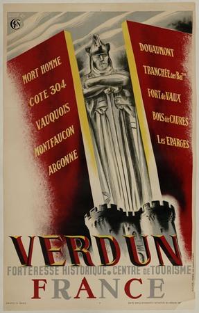 Verdun. Forteresse historique. Centre de tourisme. France