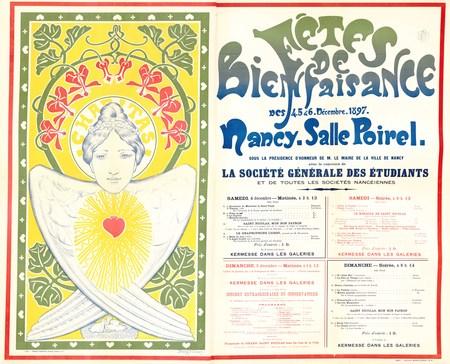 Fêtes de bienfaisance Des 4, 5 & 6 décembre 1897 Nancy - Salle Poirel