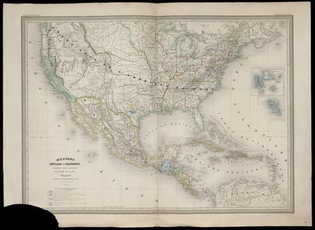 Mexique, Antilles et Californie