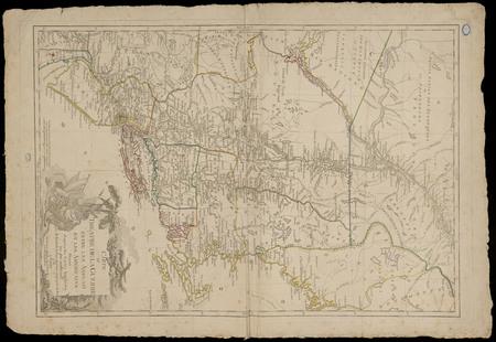 Carte du théâtre de la guerre entre les Anglais et les Américains : dressé…
