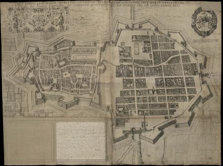 Urbis Nancei Lotharingiae metropolis secundum formam quam hoc anno 1611 ha…
