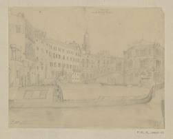 Venise. Vue du pont de Rialto