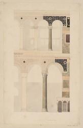 Dans l'église de Sainte Sophie, Constantinople