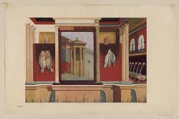 Fresque se trouvant au musée de Naples