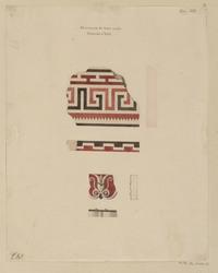 Morceaux de terre cuite trouvés à Veii