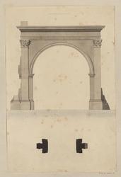 Arc de Gallien à Rome