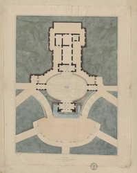 Villa Pia dans les jardins du Vatican à Rome par Pirro Ligorio