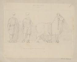 Arc de Titus, frise au quart de l'exécution