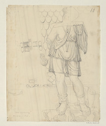 Arc de Titus, face de la clef