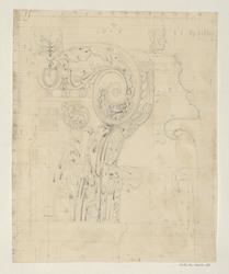 Arc de Titus, détail du chapiteau