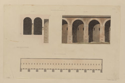 Tivoli. Portique d'Hercule