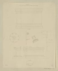Pompéi, puits d'autels au devant du temple de Neptune, forum triangulaire