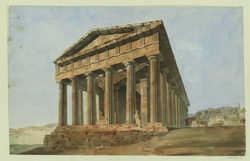 Athènes, temple de Thesée
