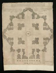 Ichnographia templi divi petri romae […]