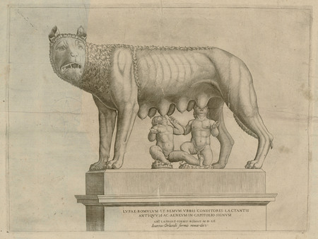 Romulus et Rémus taitant la Louve