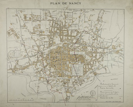 Bombardement de Nancy dans la nuit  du 9 au 10 septembre 1914
