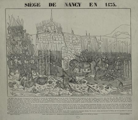 Siège de Nancy en 1475