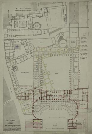 Plan général du palais ducal de Nancy
