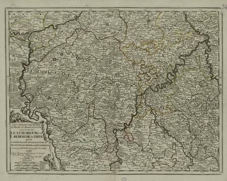Les courans des riviers de Meuse de Mozel et de la Sar