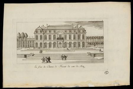 La face du Château de Frescati du coté de Metz