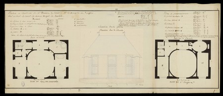 Pavillon ou chartreux de M. Devaux, cy devant à Madame la Marquise de Bouf…