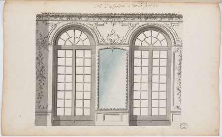 Grand Cabinet de son altesse Royale madame dans l'angle du coté de Nancy:…